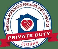 Private Dute Certified Seal